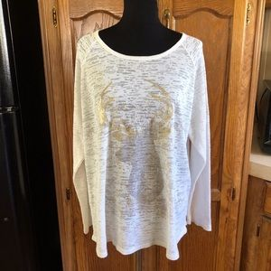 Sonoma Burn Out Thermal Top Size 2X
